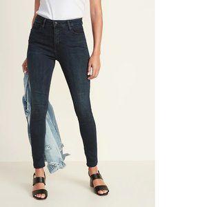 🍋Old Navy Rockstar Jeans Dark Wash Sz 8